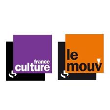 Logos de France Culture et du Mouv'